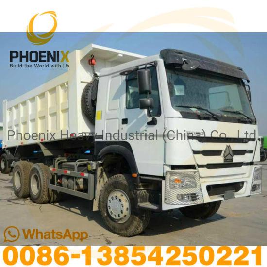 371HP Sinotruck Used HOWO Dump Truck 6X4 Used Tipper Truck