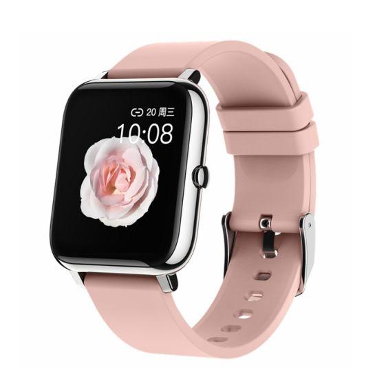 Cheap Men Women Smart Watch P22 with Custom Dial Heart Rate Blood Pressure Sleep Monitoring Smartwatch
