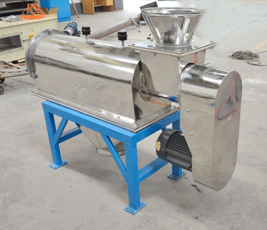 Horizontal Airflow Centrifugal Sifter Sieving Machine for Tapioca Starch