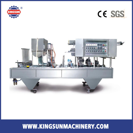 Four Cups Automatic Cup Fill-Seal-Cut Machine (CFD-4)