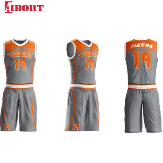 Aibort 2020 OEM Custom Basketball Jersey Uniform Top Quality Breathable Sublimated Basketball Jerseys (J-BSK005 (2))