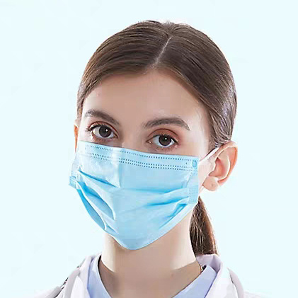 Wholesale Price Blue Earloop Face Mask&Respirator Antivirus Quick Delivery pictures & photos