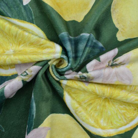 Wholesale Custom Digital Printed Minky Fabric Polyester Spandex Digital Print Squish Fabric for Blanket