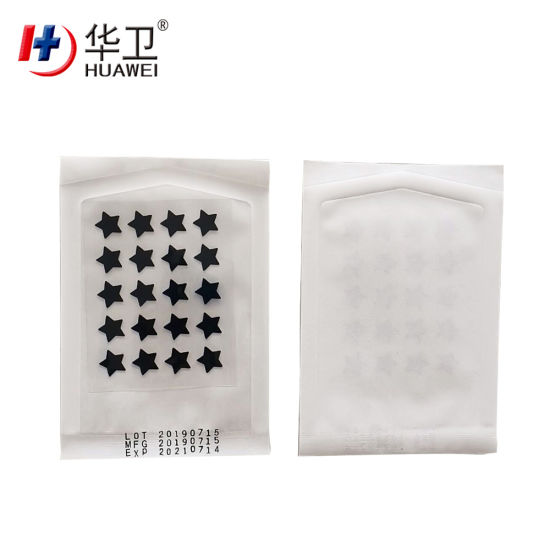 Hydro Colloid Acne Patch Star/Heart/Round Shape OEM Factory in China