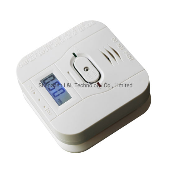 LCD Diplay Combustible Cocal Gas Detector Co Gas Alarm