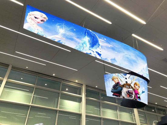 Full Color Video Wall P2.5 Flexible Soft Rubber LED Display