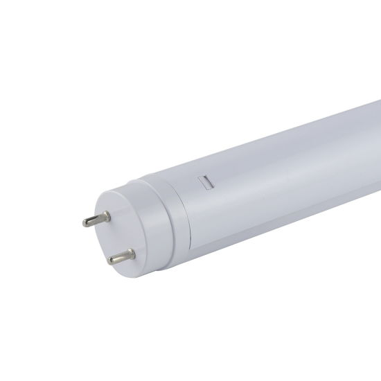 Cost Effective PC Plastic Tube 18W 130lm/W Warm White T8 LED Tube