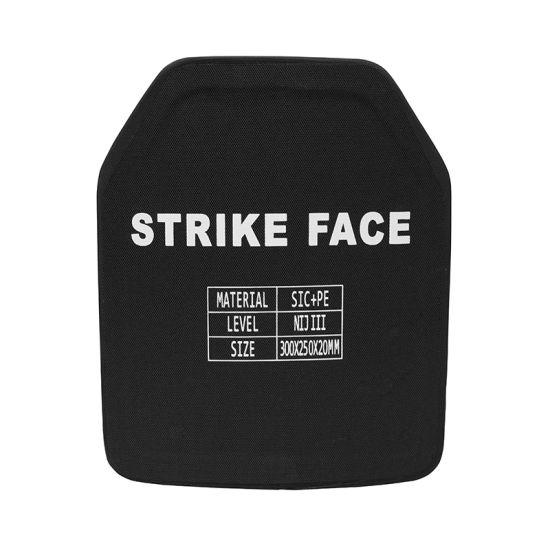 Police Nij Iiia PE Bulletproof Board Armor Plate Strike Face