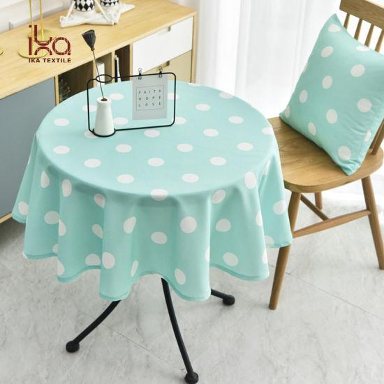 Printed Table Cloth Custom, Round Table Cloths