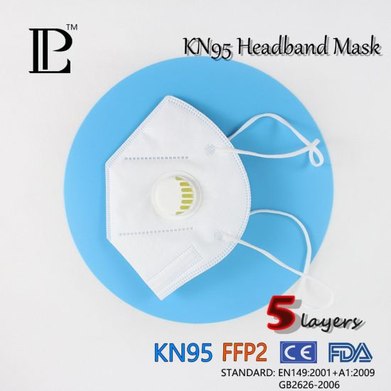 Disposable Anti-Bacteria Protective Kn95 Face Mask with Individual Package