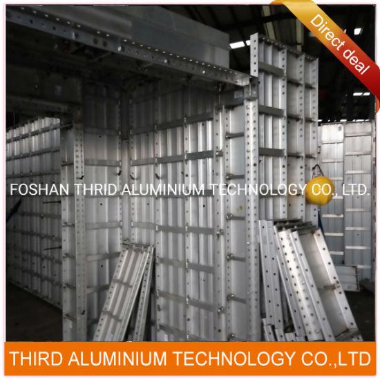 China Aluminium Extrusion Manufacturer-Concrete Building Aluminum Formwork Extruding Profile