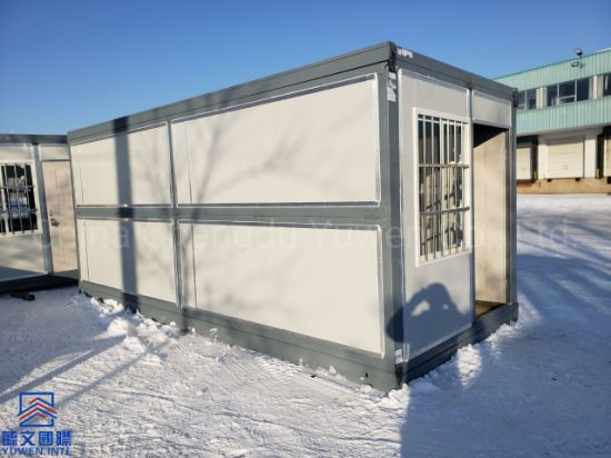 New 20FT 6 Meters Thailand Folding Insulated Container Temporary Office