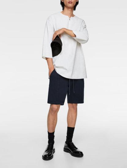 2020 Fashion Wholesale 100% Hemp Casual T Shirt for Men