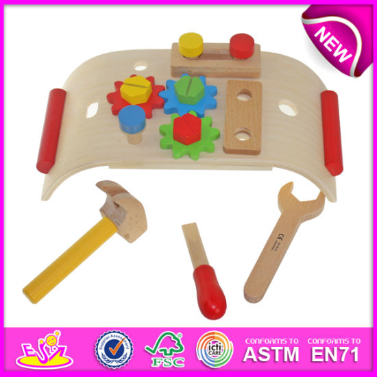 China Wooden Pretend Play Tool to for Kids, DIY Wooden Toy