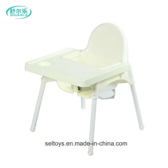 Plastic Portable Moving Sitting Free Baby High Chair Dining Chair  sc 1 st  Hebei Shuerle Toys Co. Ltd. & China Plastic Portable Moving Sitting Free Baby High Chair Dining ...
