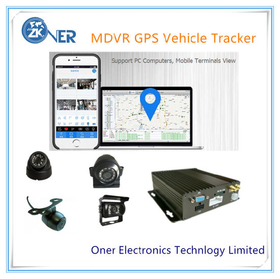 School Bus Mdvr and GPS Tracking Surveillance System