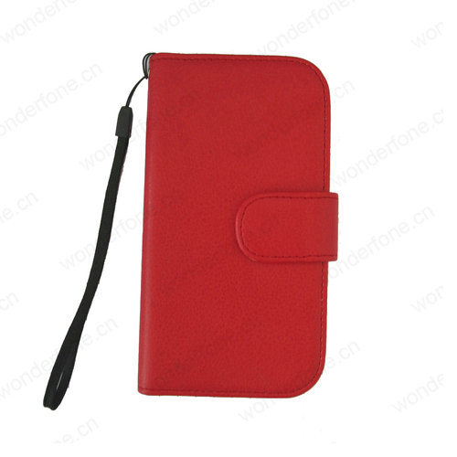 Wholesale Price PU Leather Walletcase for Samsung Galaxy S3 I9300 pictures & photos
