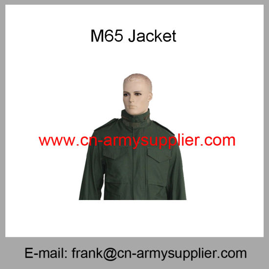 Army Overcoat-Army Poncho-Army Beret-Army Shirt-M65 Combat Jacket