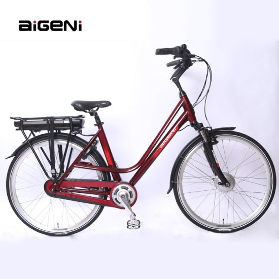 Adult Aluminum Alloy 250W36V10 Ah Lithium Battery Bicycle Electric Bike