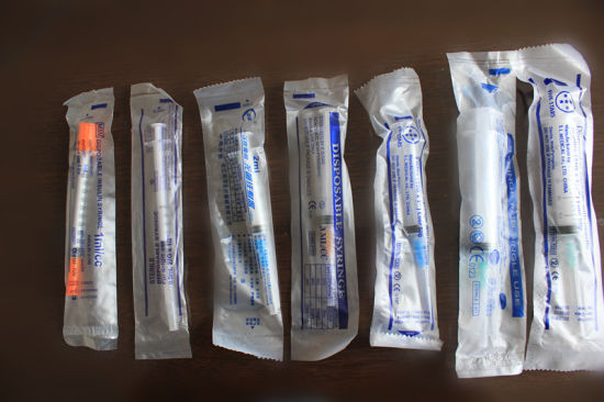 Hot Sale Medical Plastic 3 Parts Disposable Syringe (10ml) pictures & photos