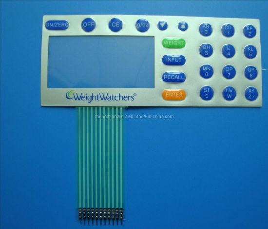 Silk Screen Printing Circuit Keyboard Panel Keypad Membrane Switch