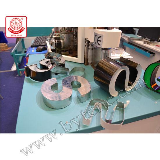 China Bwz C Embossed Acrylic Letter Making Machine   China