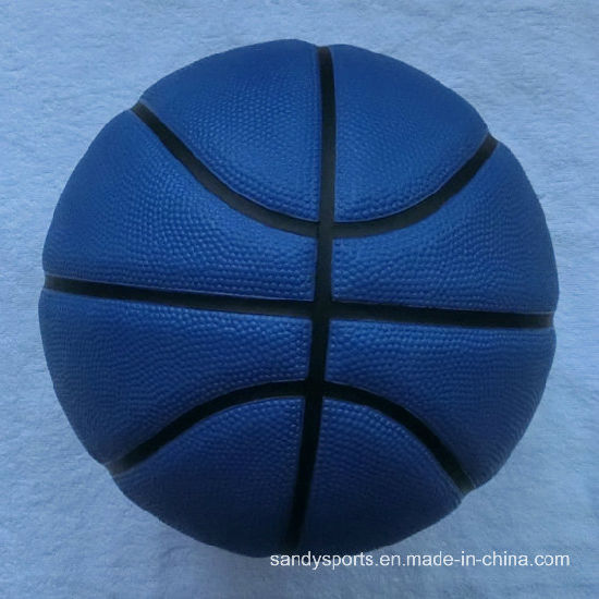 High Quality Match Foam Rubber Basketball pictures & photos