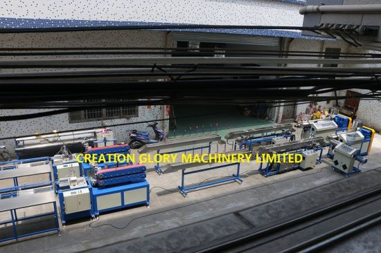 Oil Cooling Calibration Technology PMMA Acrylic Bar Making Machine pictures & photos