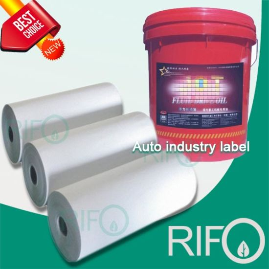One Side Coated Matt Surface Offset Printable Label Film Materials pictures & photos