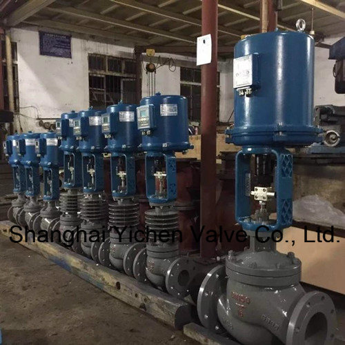 Electric High Pressure and Hightemperature Steam Control Valve pictures & photos