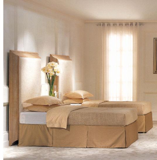 [Hot Item] USA Oak Wooden Vintage Hotel Bedroom Furniture 5 Star
