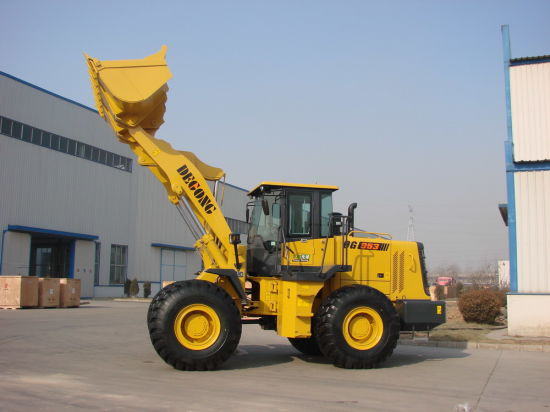 8t Machinery Big Wheel Front Loader with Pilot Operate pictures & photos