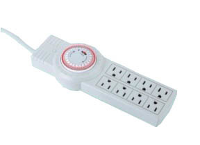 USA Style Timer Switch Outlets with ETL Approval (RZP-LP06)