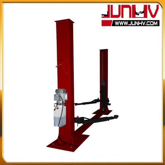 Junhv Low Ceiling Design 2 Post Car Lift for Sale