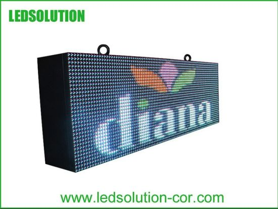 Manufacturer of Outdoor RGB Message LED Signs pictures & photos