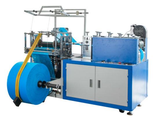 Automatic PE HDPE LDPE Ultrasonic Disposable Shoe Cover Making Machine