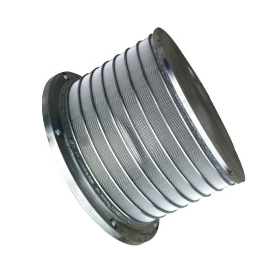 Precision Tube Stainless Steel Slot Wedge Wire Well Screen Filter Mesh