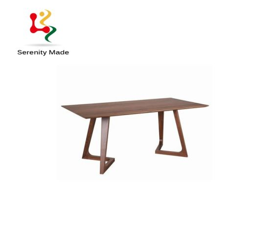 China Vintage Style Commercial Restaurant Furniture Rectangle Wooden Dining Table China Wooden Table Restaurant Table