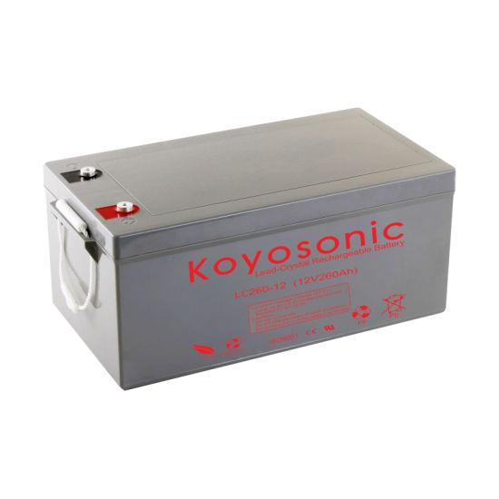 Lead Crystal Battery 12V 260ah with 3-Year Warranty