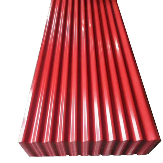 Pre-Painted Galvanized/ PPGI Dx51 Corrugated Steel Roofing Sheet