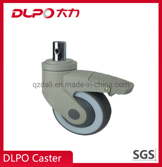 All Plastic Medical Single Wheel Casters for Oxygen Generator for Home Use