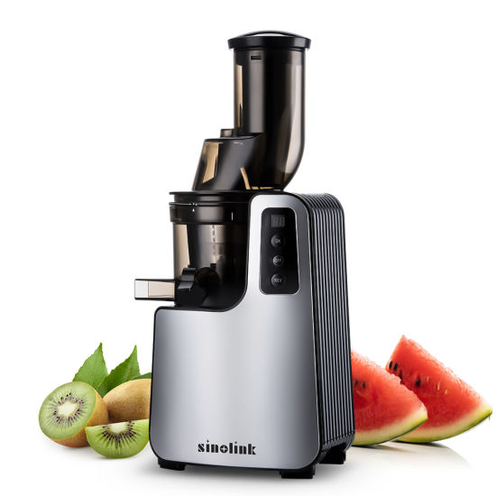 The Newest 200W Silent Working Big Mouth Slow Juicer