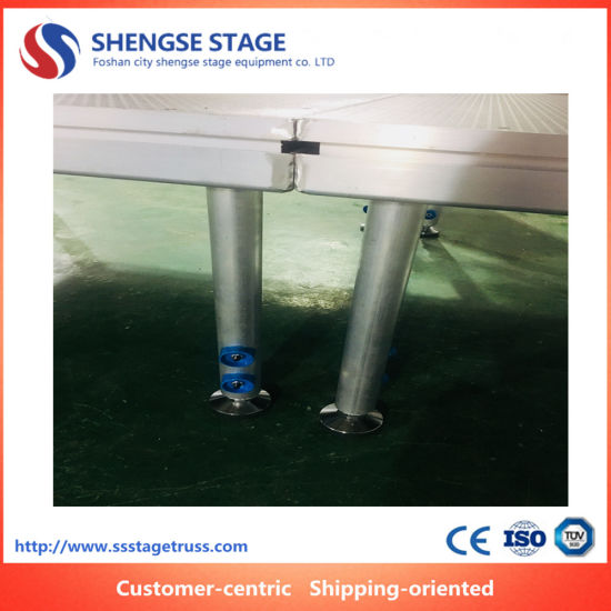 High Quality Aluminum Simple Frame Wedding Portable Mobile Stage