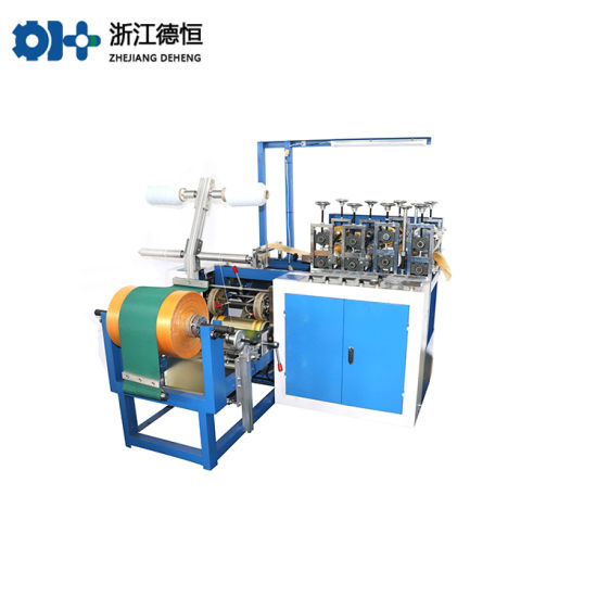 PE-CPE Shoe Cover Making Machine with Round Elastic
