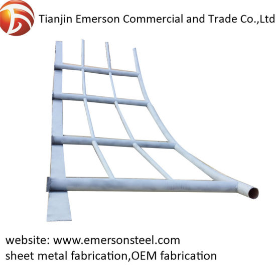 Pipe Bending Welding Steel Structure Fabrication Parts for Workshop Building