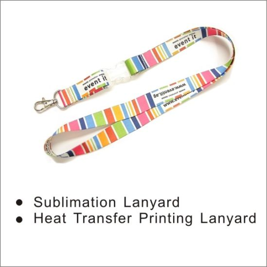 Sublimation Pirnting Lanyard Factory pictures & photos