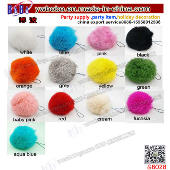 Promotion Items Promotion Keychain Fur Ball Keychain Advertising Gifts Holiday Gifts (G8028) pictures & photos