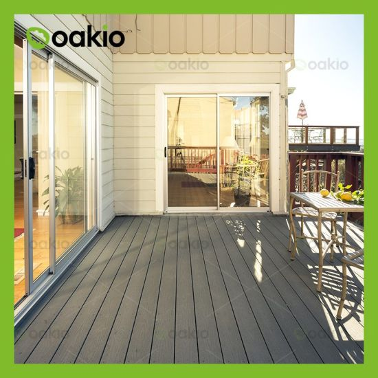 Wholesale Easy Installation WPC Wood Plastic Composite Decking for Patio