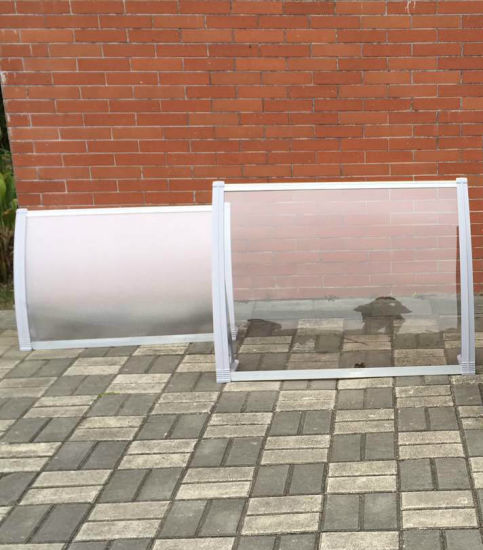 Free Standing Aluminum Frame Clear PC Board Awnings for Balcony pictures & photos
