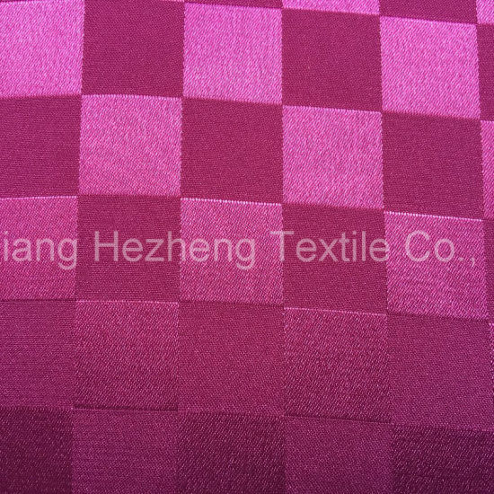 Garment Polyester Jacquard Spandex Satin pictures & photos